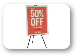 [object object] Signage & Pop Display 50 off 01