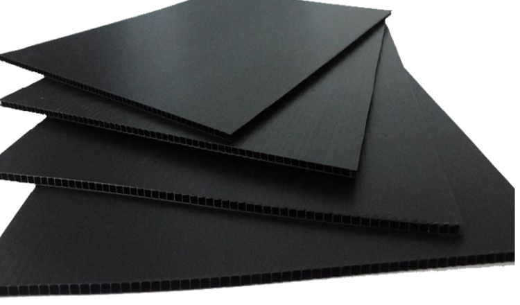 PP esd corrugated sheet conductive